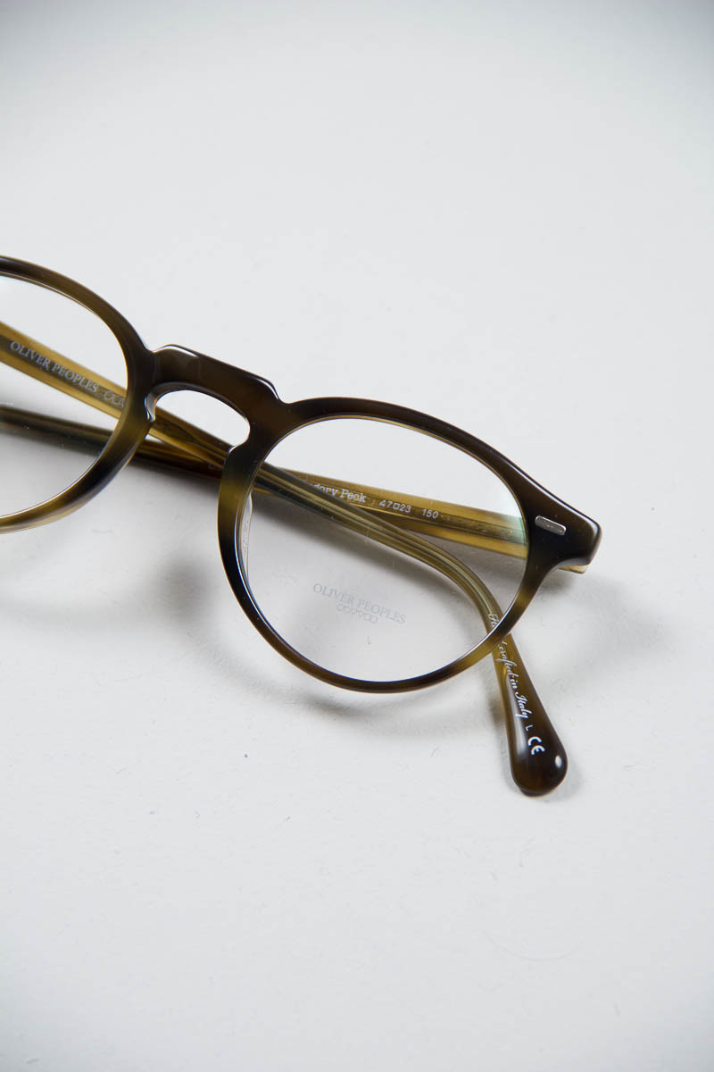 Big Frame Glasses Tumblr : Moss Tortoise Gregory Peck Optical Frame by Oliver Peoples ...