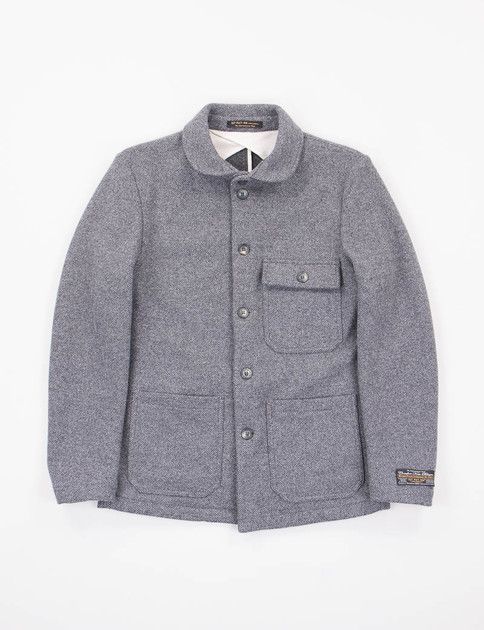 Antracite Tweed Tarzo Jacket