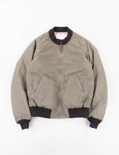 Green Hartman Bomber Jacket