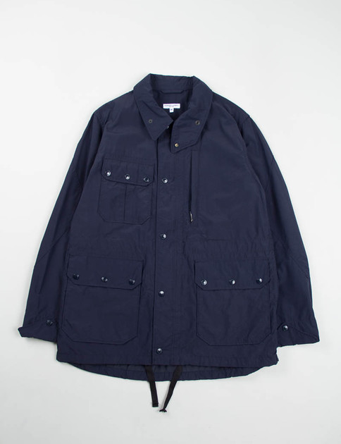 Dark Navy Nyco Poplin Field Jacket