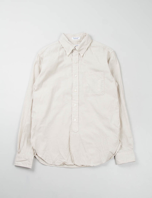 Beige Dungaree Cloth 19th Century BD Shirt