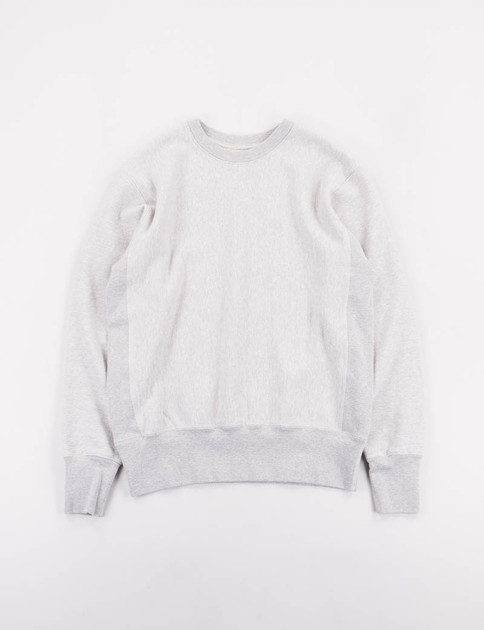 Mid Grey Gusset Crew Trainer Sweat