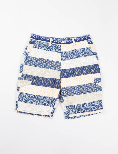Navy Calico Border Cruzer 2 Short