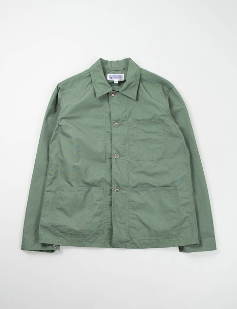 Olive NyCo Ripstop Utility Jacket Special