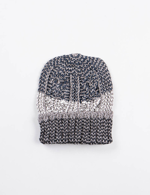Grey Stripe Pre–Organic Cotton Knit Cap