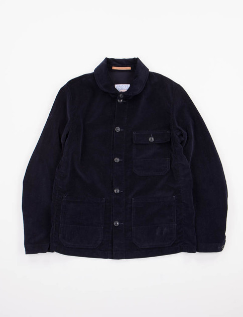 Blue Corduroy Officina Jacket SPECIAL