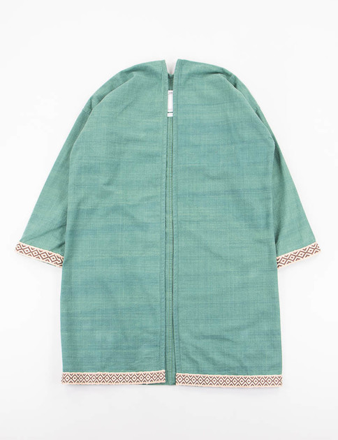 Green Silk Road Sanjuro Coat