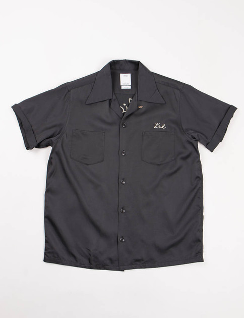 Black Irving S/S Shirt