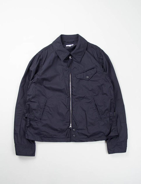 Navy Washer Twill Driver Jacket