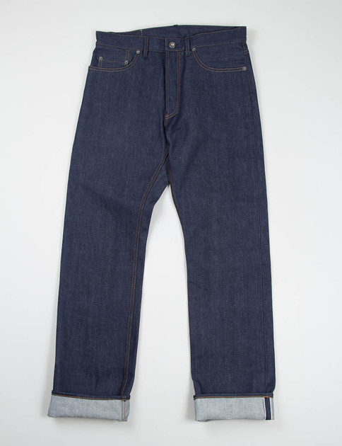 Indigo Red Selvage Raw Jean