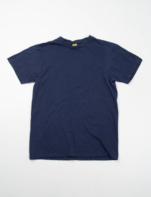 Navy Rolled Regular Tee