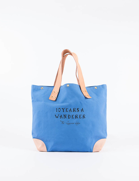 Blue Market Bag