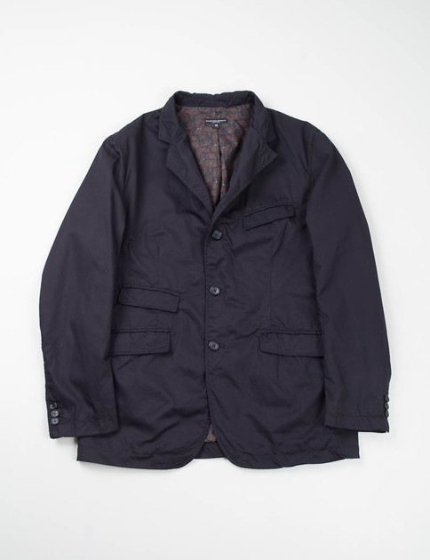 Dark Navy High Count Twill Andover Jacket
