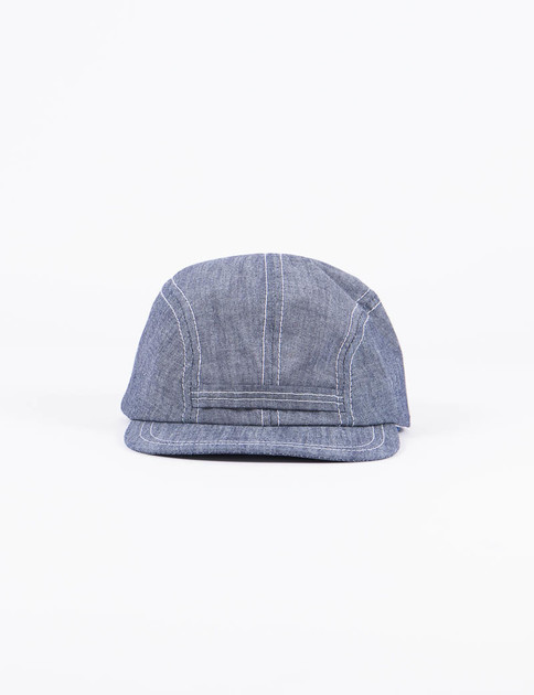 Blue Cone Chambray Field Cap