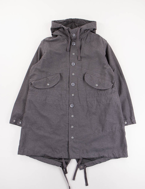 Charcoal Activecloth Highland Parka