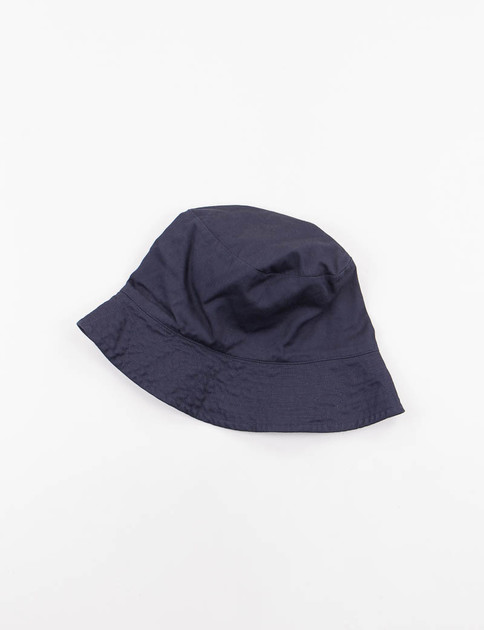 Dark Navy 7oz Cotton Twill Bucket Hat