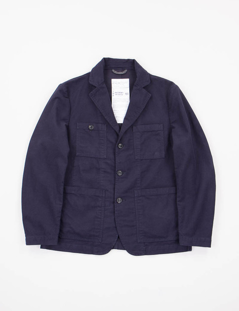Blue Moleskin Follina Jacket