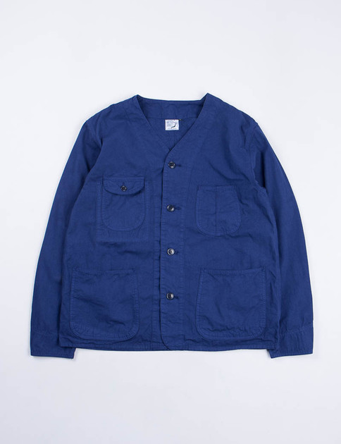 Ink Blue Poplin Rail Road Jacket SPECIAL