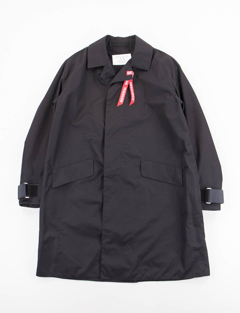 Black Balcollar Coat