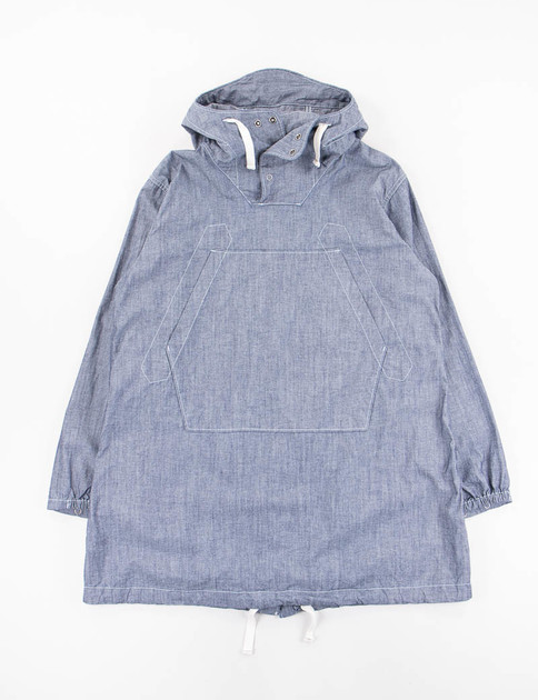 Blue Cone Chambray Cagoule