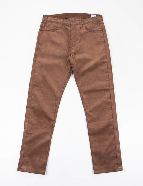 Brown Corduroy 107 Slim Fit Jean
