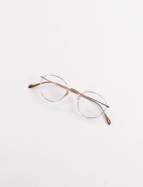 Gold Coleridge Optical Frame
