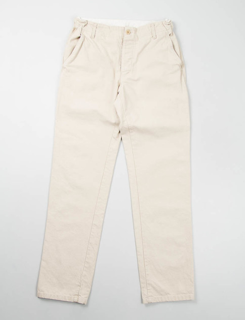 Sand Cotton Serge Petanque Pants