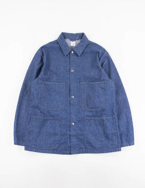Indigo One Wash Utility Coverall