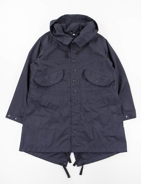Dark Navy PC Poplin Highland Parka