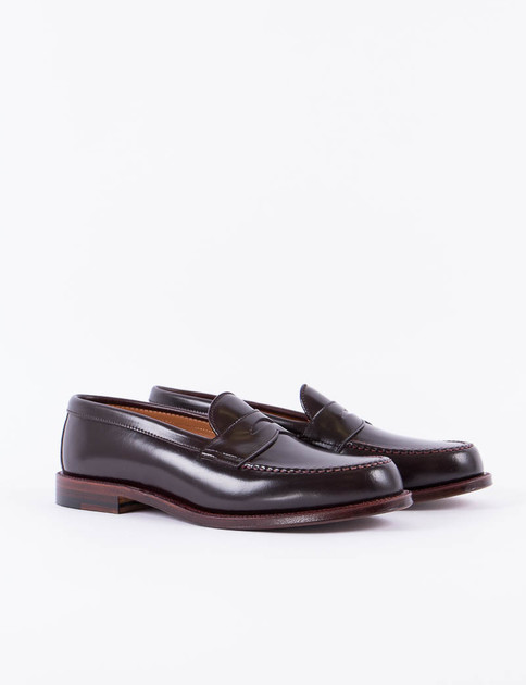 Color 8 Cordovan Penny Loafer