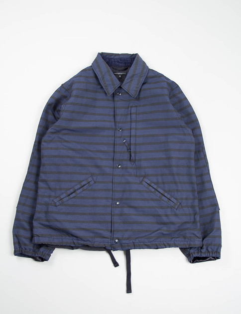 Black/Navy Stripe Activecloth Ground Jacket