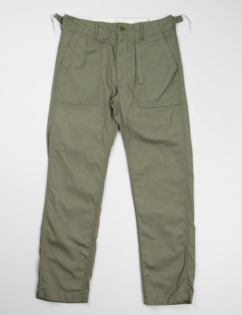Olive Outback Canvas Fatigue Pant