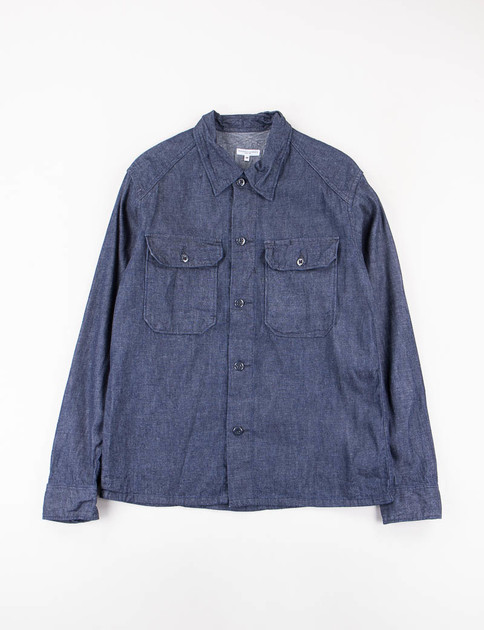 Indigo 8oz Cone Denim Field Shirt