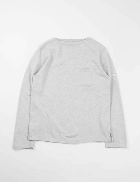Heather Grey French Terry Bask Shirt