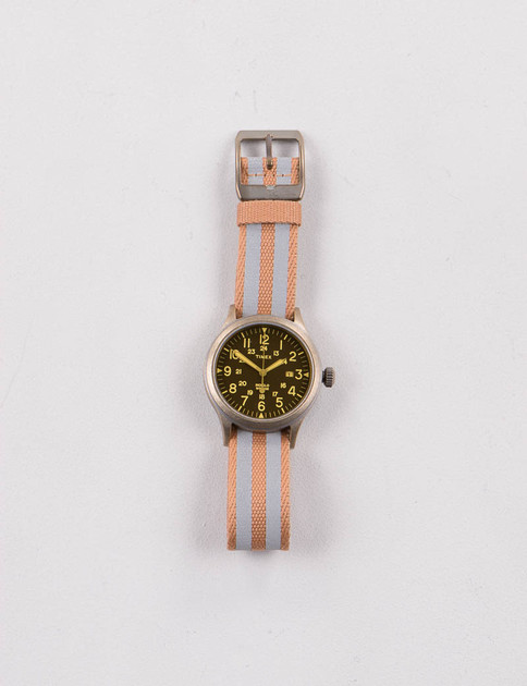 Bronze/Black w/ Coyote/Silver Strap Scout Brook Watch