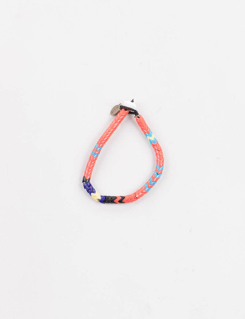 Mikia X United Arrows Orange Snake Bead Bracelet