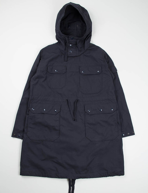 Dark Navy Nyco Ripstop Over Parka
