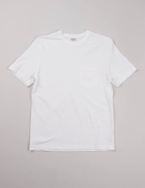White Dad's Pocket Tee