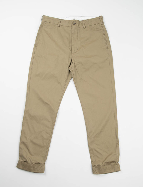 Khaki Iridescent Cinch Pant