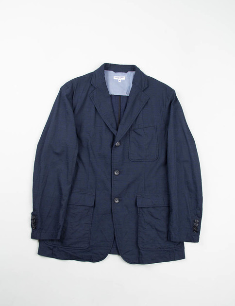 Dark Navy Java Cloth Baker Jacket