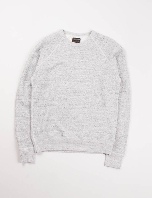 Grey Lightweight Raglan Warm–Up Sweat