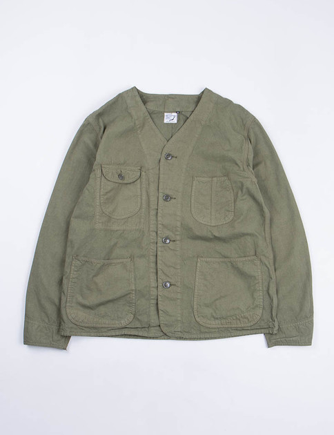Army Poplin Rail Road Jacket SPECIAL
