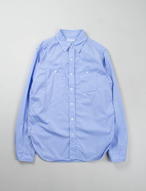 Light Blue End On End Work Shirt – EXCLUSIVE