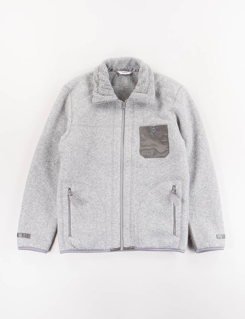 Grey Fleece Blouson