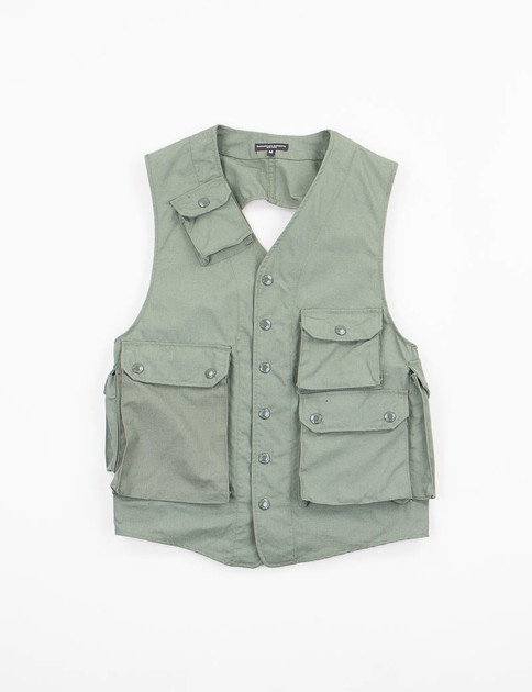 Olive NyCo Ripstop C–1 Vest