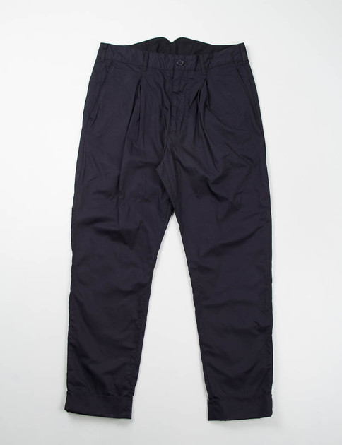 Dark Navy High Count Twill Willy Post Pant