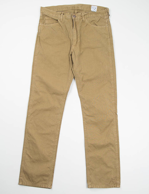 Dusty Olive 107 Slim Fit Jean