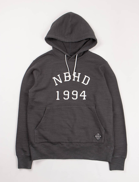 Charcoal 1994 C–Hooded Sweatshirt