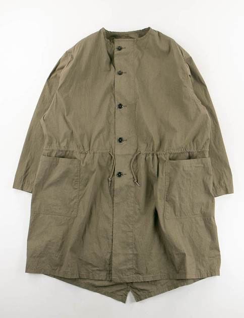 Army No Collar Coat