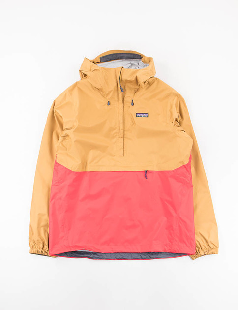 Oaks Brown/Fire Torrentshell Pullover